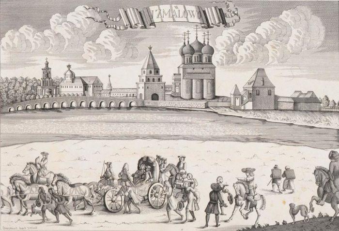 Выезд Петра II на соколиную охоту./Фото: echo.msk.ru