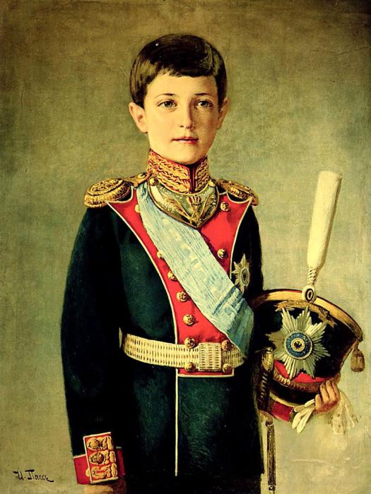 Цесаревич Алексей, портрет./Фото: img-fotki.yandex.ru