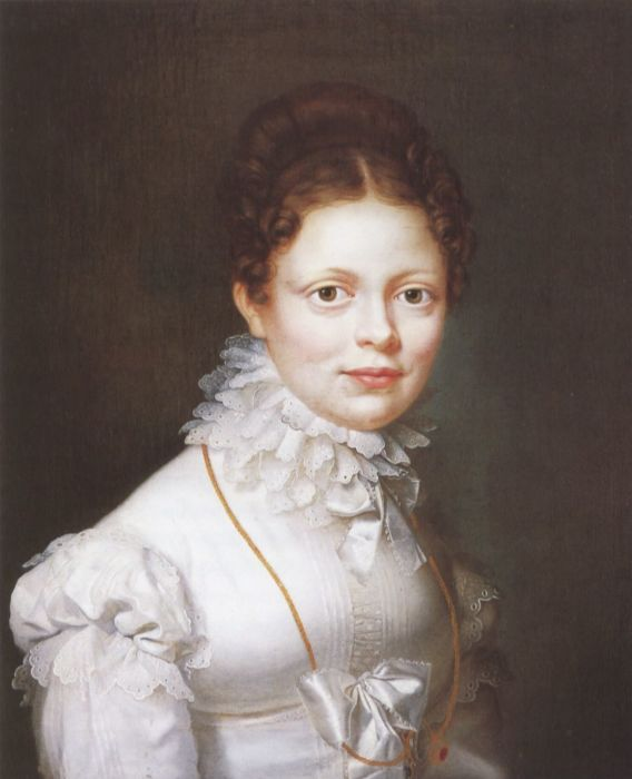 Екатерина, королева-консорт Вюртембергская. Картина Ф.-С. Стринбранда, 1819 год.