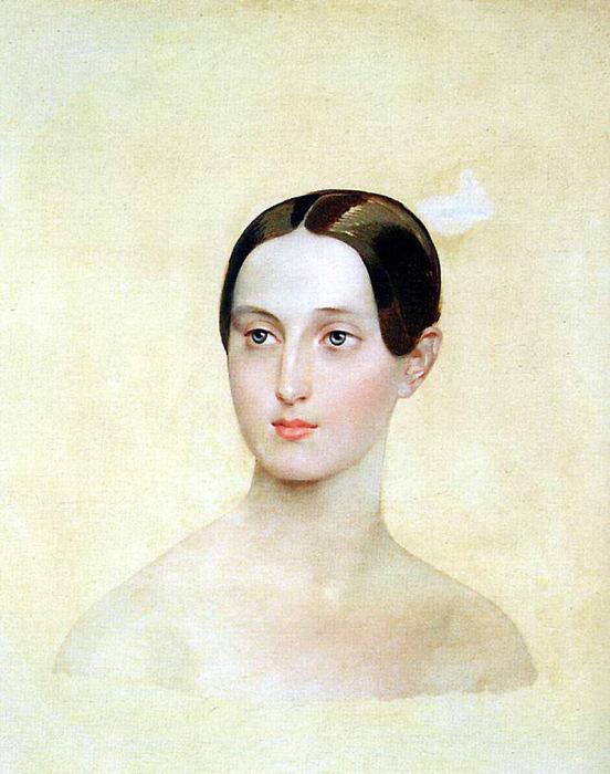 К. П. Брюллов. «Портрет великой княжны Марии Николаевны». 1837 год.