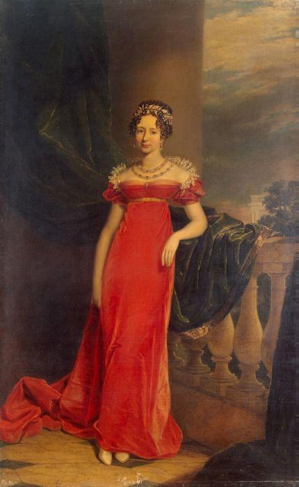 Дж. Доу. «Портрет великой княгини Марии Павловны, наследной герцогини Саксен-Веймар-Эйзенахской». 1822 год.