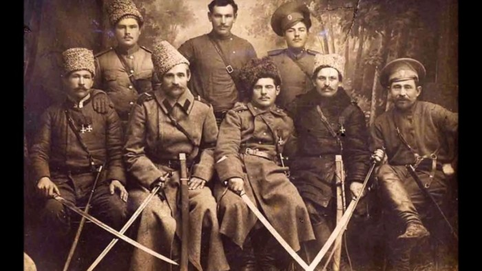 «Кто пули боится, тот в казаки не годится»./Фото: i.ytimg.com
