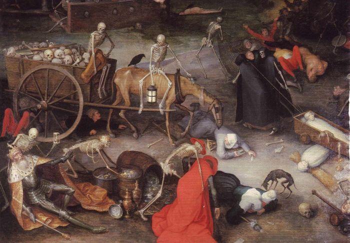 Среди парфюмеров доля инфицированных чумой была существенно ниже./Фото: upload.wikimedia.org