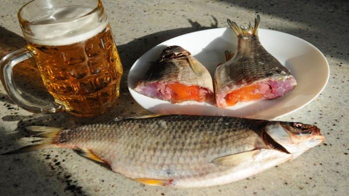 Вяленая рыба ассоциируется у русских с отдыхом