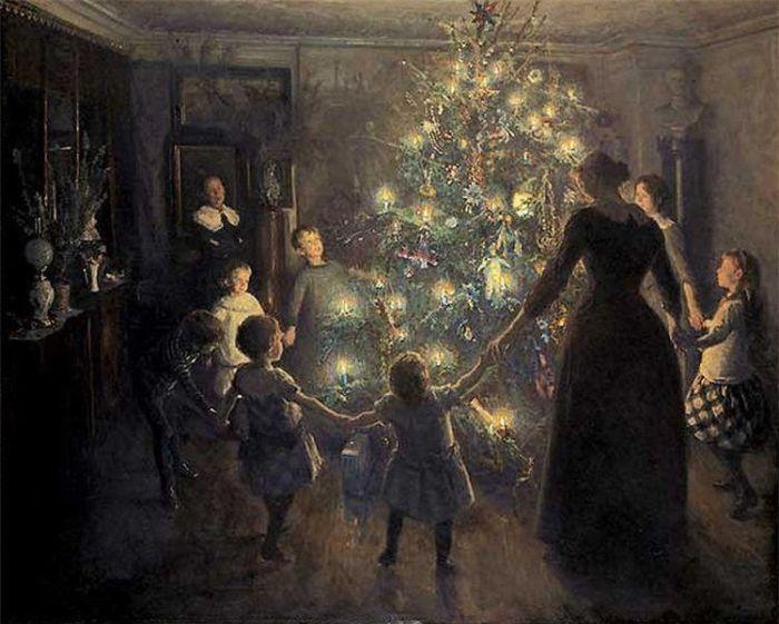 Вигго Юхансен. «Светлое Рождество».