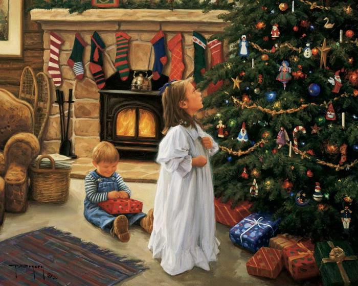 Роберт Данкан. «Рождественская елка».