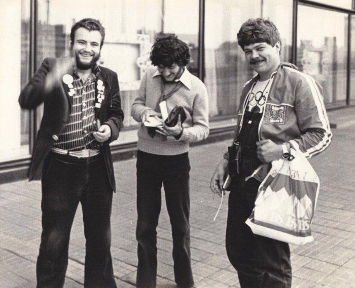 Фарцовщики, 70-е годы./Фото: rnbee.ru