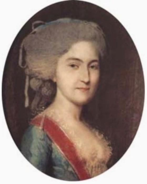 Анна Нарышкина, художник Johann Heinrich Schmidt.