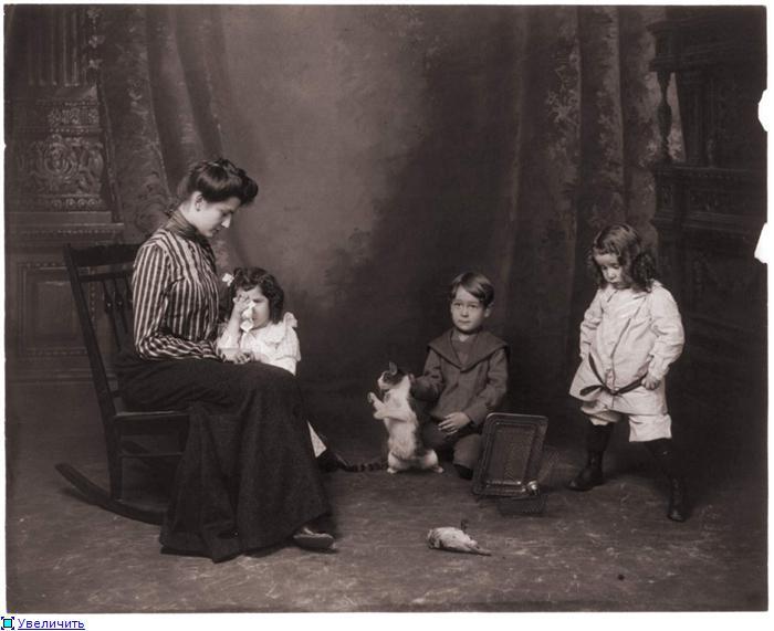 Дети часто привязывались к гувернантке и воспринимали ее как вторую мать./Фото: img1.liveinternet.ru
