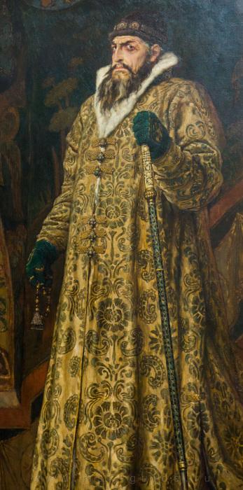 В.М. Васнецов. Царь Иван Грозный. Иван Грозный, прямое имя которого было Тит.