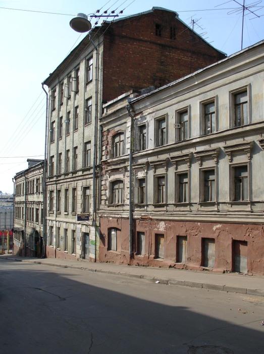 По адресу переулок Печатников под крышей жилого многоквартирного дома располагался тайный скит./Фото: upload.wikimedia.org