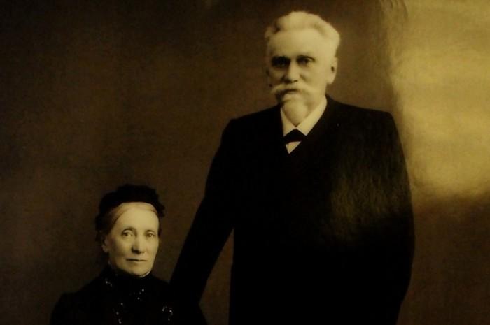 Глава «Черных кабинетов» империи К.Вейсман с 1886 по 1892 годы с женой./Фото: s11.stc.all.kpcdn.net