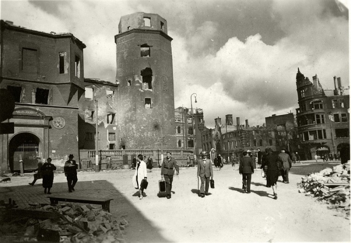 Кёнигсберг в 1944-м. Накануне падения лучшей крепости рейха./Фото: gimn.chernyahovsk.ru