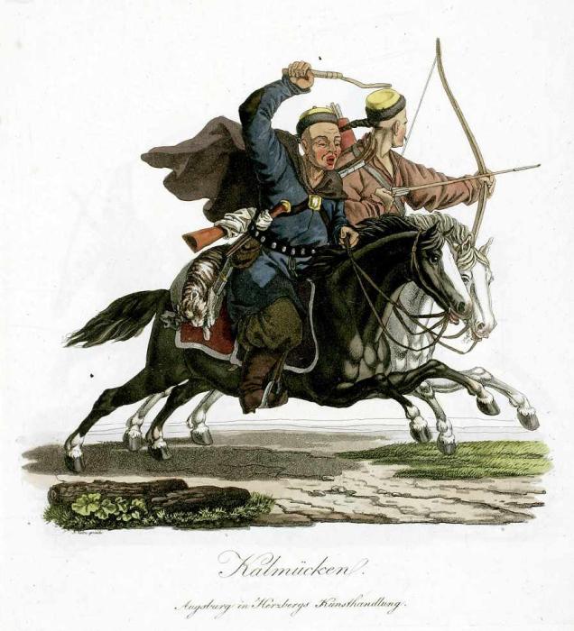 Так выглядели калмыки./Фото: www.napoleon-series.org
