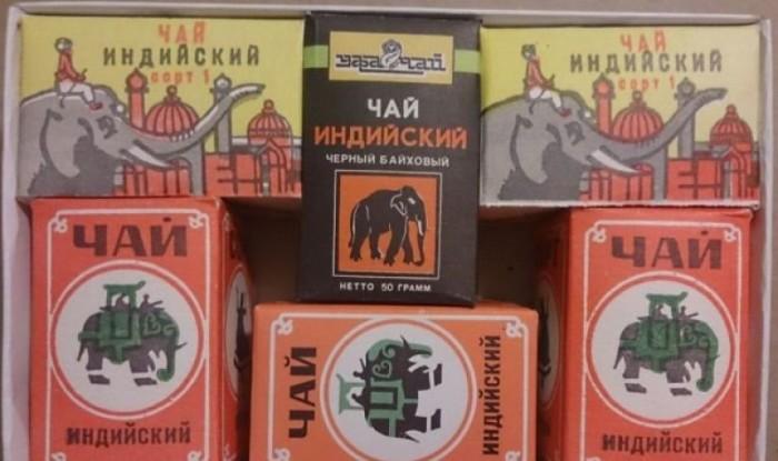 Настоящий индийский чай бывает только со слоном./Фото: tea-terra.ru