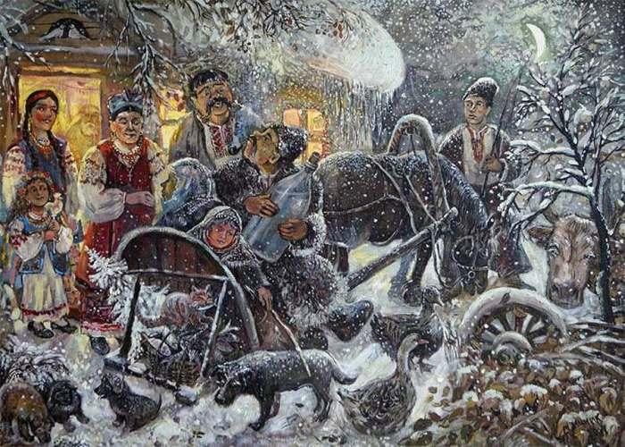 А. Мицник. Украина на Рождество Сегодня Коляду празднуют в России, на Украине, в Беларуси.