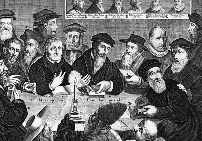 Группа протестантов, 17 век./Фото: dominikanie.pl