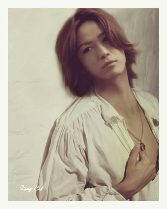 Каменаши Казуя, топовый японский певец и актер./Фото: pre00.deviantart.net
