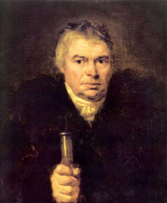 О. Кипренский, «Портрет отца. Адам Карлович Швальбе».