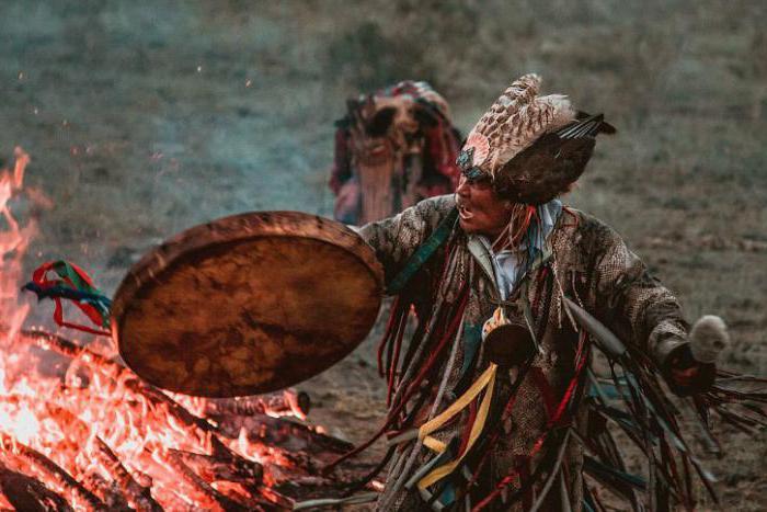 Шаман. Камлание./Фото: fb.ru