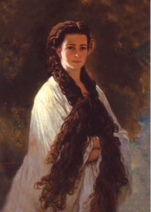 Франц Ксавер Винтерхальтер. Елизавета Австрийская.