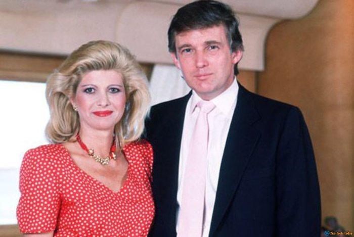 Дональд и Ивана Трамп./Фото: stunningfun.com
