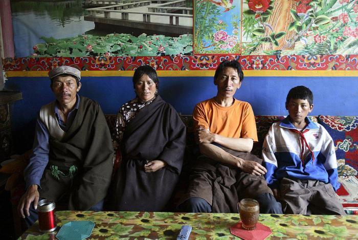 Тибетская полигамная семья./Фото: img.milli.az
