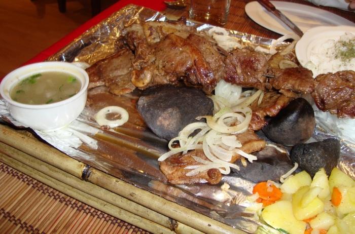Традиционное монгольское блюдо./Фото: gallery.ykt.ru