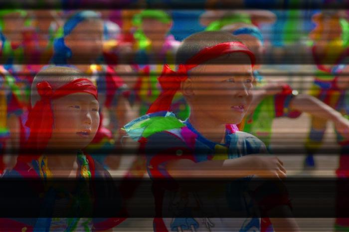 Монгольские дети./Фото: hfusionmediagroup.com