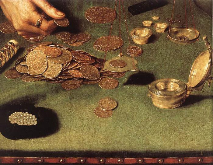 В древности на Руси за деньги можно было получить оправдание за все./Фото: goldenfront.ru