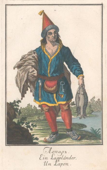 Саам-лопарь./Фото: upload.wikimedia.org