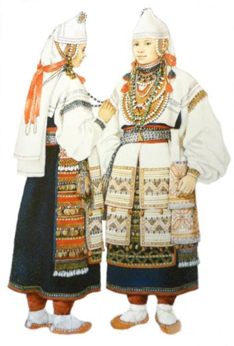 Наряд невесты./Фото: b1.culture.ru