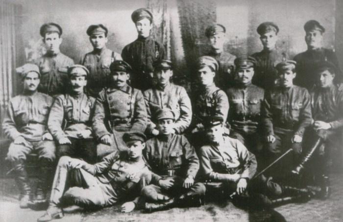 Екатериненштадтский полк, сформированный из немцев Поволжья./Фото: www.geschichte.rusdeutsch.ru