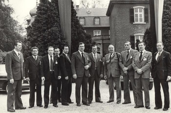 Группа выездной охраны Генерального секретаря Л.И. Брежнева./Фото: cont.ws