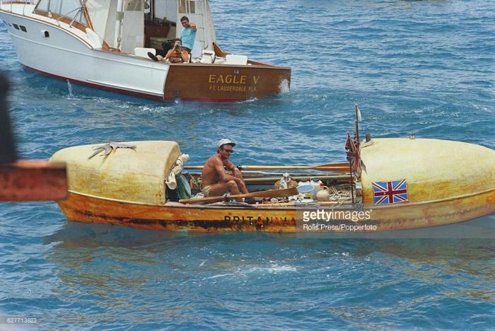 «Британия» Джона Фэйрфакса - ролл-ройс среди гребных лодок./Фото: www.wiki.oceanschool.ru
