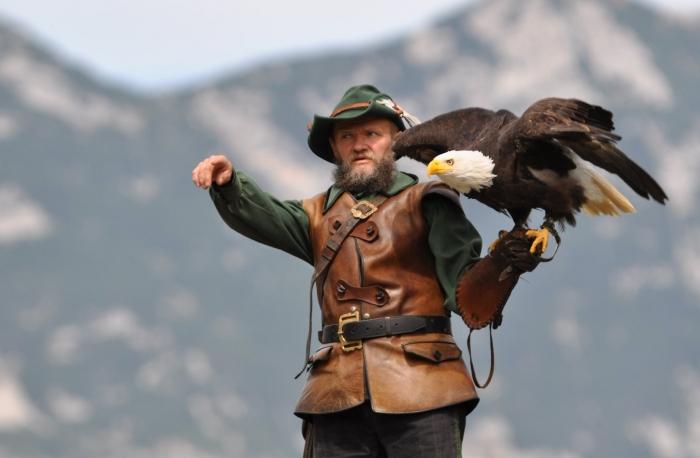 Птица должна слушаться хозяина беспрекословно./Фото: www.krist.ru
