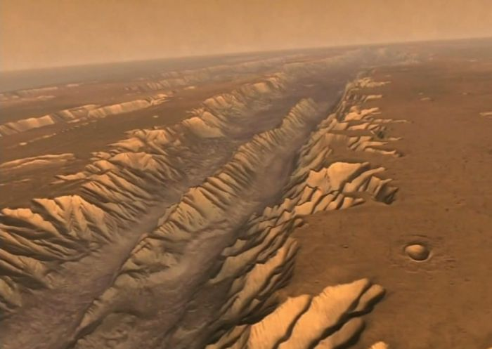 Марсианские каналы./Фото: v-kurse.ru