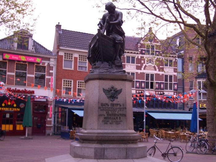 Единственная из трех отлитых Бернштамом фигура, сохранившаяся до наших дней./Фото: upload.wikimedia.org