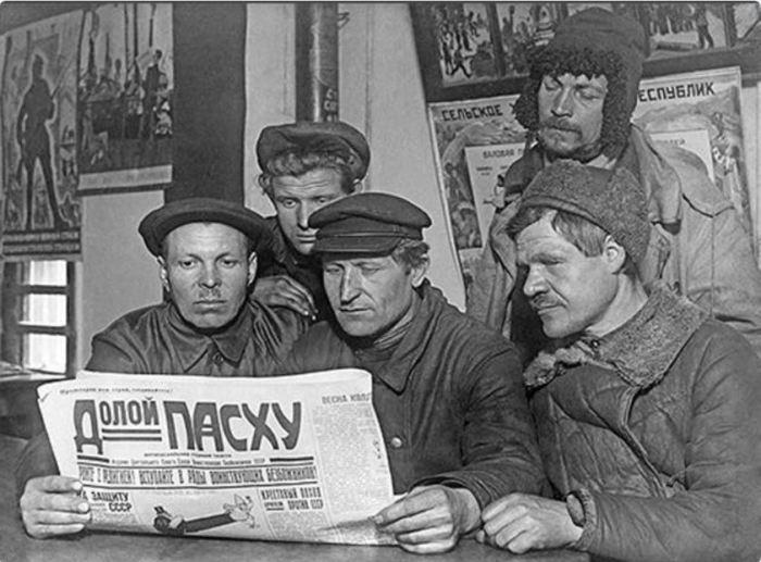 За посещение Всенощной службы могли уволить с работы./Фото: i89.fastpic.ru