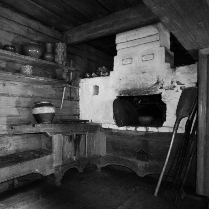 Сначала планировалось место для печи, а уж потом – для остальных помещений./Фото: www.fotokonkurs.ru