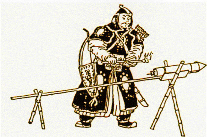 Древнекитайский пиротехник./Фото: regmedia.co.uk