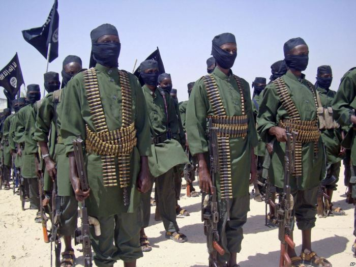 Сомалийские боевики./Фото: i1.wp.com