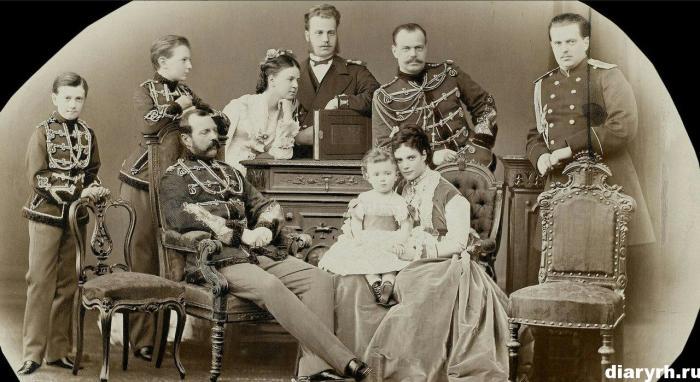 Александр II с семьей./Фото: diaryrh.ru