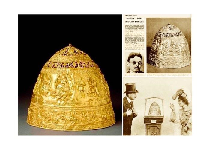 Та самая корона в знаменитом Лувре./Фото: arskerylos.art
