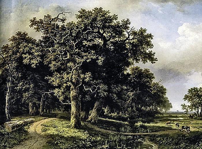 «Пейзаж с ручьем» молодого Шишкина был выставлен на аукционе Sotheby's за $1,1 млн./Фото: s16.stc.all.kpcdn.net