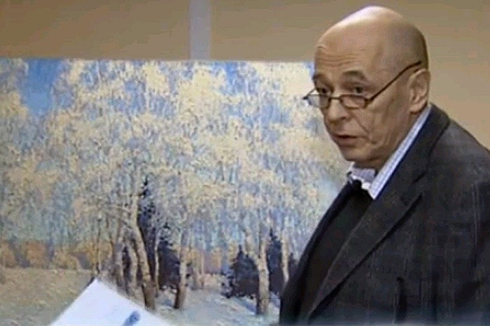 Фальшивый пейзаж Грабаря с прекрасным экспертным заключением./Фото: s12.stc.all.kpcdn.net