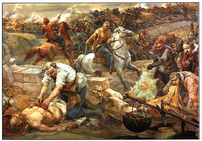 Хмельниччина и еврейская кровь./Фото: hvylya.net
