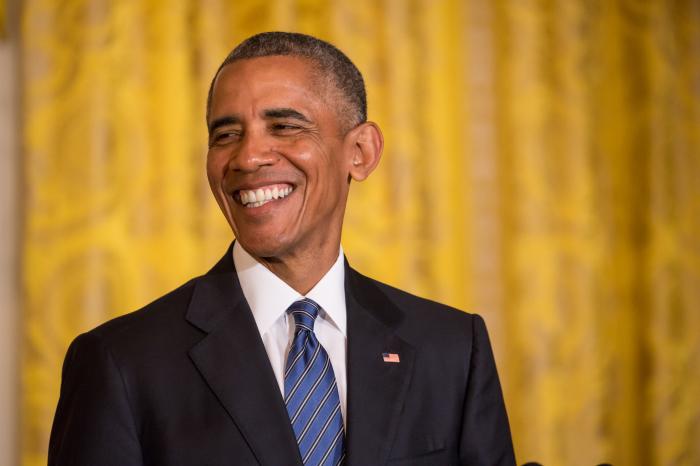 Книга не долетела до Барака Обамы./Фото: fashionweekdaily.com