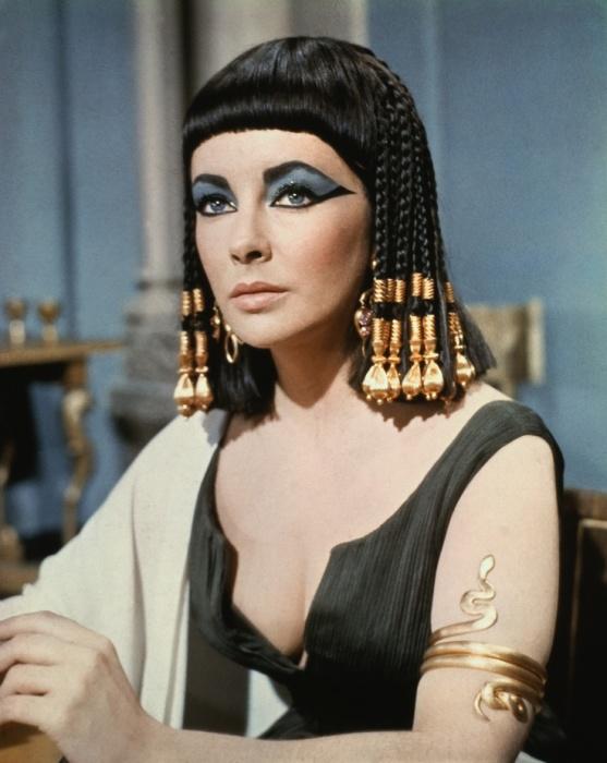 Эталон женской красоты в Древнем Египте./Фото: i.pinimg.com