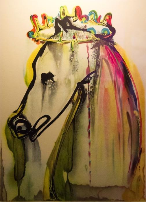 Лошадь Калигулы, Сальвадор Дали.